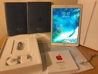 iPad Pro 9.7 - 128GB Wi‑Fi Gold w Cover/Case & AppleCare+