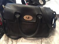 Mulberry black small Bayswater
