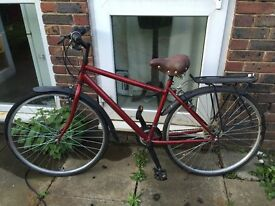Good Bicycle with Luxury seat and Parcel shelf