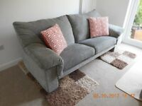 Large Sofa & Armchair designed by Michael Tyler. Excellent price & condition.