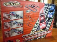 Scalextric type Racing Set Power Passers by Fast Lane Racing