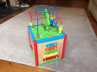 Wooden 5-in-1 Activity Box