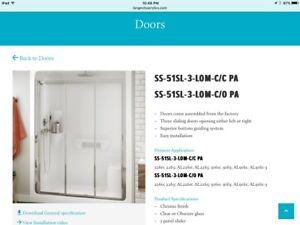 Longevity Pre-assembled Sliding Shower Door