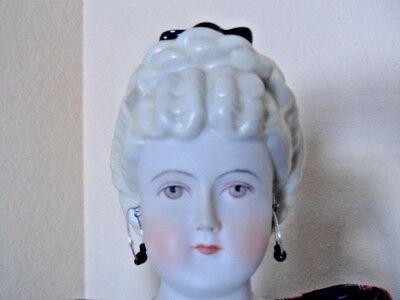 "LARGE EMMA CLEAR 18"" PARIAN BISQUE SHOULDER HEAD DOLL, CLAUDIA"
