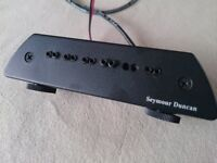 pickup: Seymour Duncan Mag A6 with internal omni-directional mic.