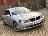 2008 BMW 730D 7 SERIES 3.0 SPORT DIESEL AUTOMATIC SALOON SILVER LUXURY 5 SEAT LONG MOT N S CLASS A8