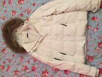 White Tommy Hilfiger Coat Size S