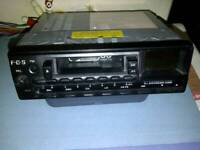 Classic Push Button Car Stereo Radio / Cassette