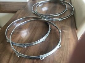 Gibraltar drum hoops / half price