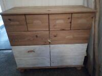 Sideboard drawers £50