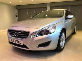 VOLVO V60 2.4 D5 SE LUX NAV 5d 212 BHP FREE DELIVERY TO YOUR DOOR (silver) 2013