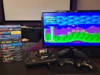 Sega Mega Drive plus games