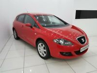 SEAT LEON 1.6 STYLANCE 5 DOOR - 12 MONTH MOT - £0 DEPOSIT FINANCE