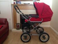 Silver cross pram and car seat in very good condition