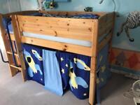 THUKA midsleeper cabin bed