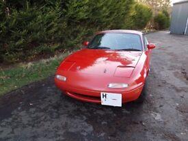 Mazda Mx5 mk1 road car, track car, race car, fun car - lots of extras full years MOT