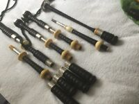 Vintage S&I Bagpipes