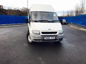 FORD TRANSIT 55 2.4 lwb high top 1850