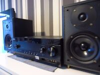 Brand new SONY STR DN1030 AMPLIFIER + Eltax Monitor Speakers 150 WATSS