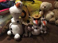 Olaf bundle from frozen