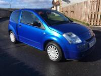 2005 CITROEN C2,LONG MOT,£795