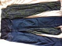 FREE 2x maternity trouser bundle