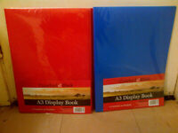 A3 20 Pocket Display Books