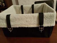 Fluffy dog car seat - New