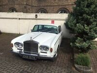 Classic Wedding Car Hire With Chauffeur