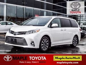 2018 Toyota Sienna Limited XLE FRONT WHEEL DRIVE DEMO