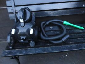 small black hoover ideal for car or stars working