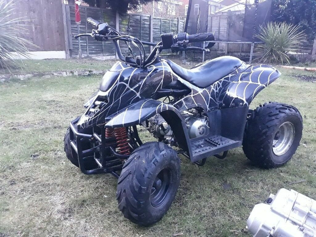 Quad bike 110cc + second for parts
