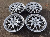BBS alloy wheels, genuine Vw Golf rims, 5x100, rare, MK 3 MK 4 etc