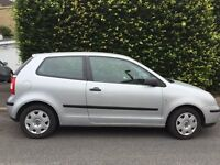 VW Polo 1.2L 3 door hatch. Genuine 39500 miles. MOT to July 2018. Two private owners.