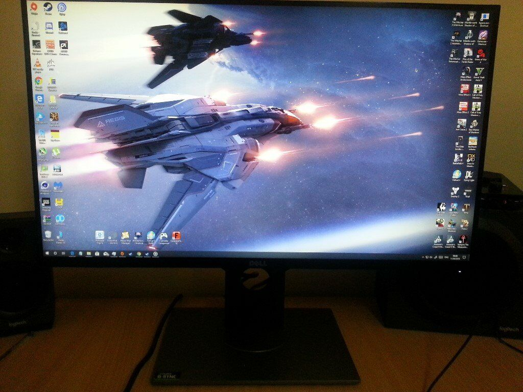 Dell S2716DG 1440p 144hz G Sync Monitor | in Rutherglen, Glasgow | Gumtree