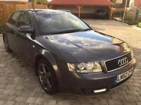 Audi A4 2.0 SE Auto 2002, Multitronic, Immaculate, Owned for the last 7 years