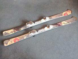 Ladies' Rossignol Temptation skis,vgc,