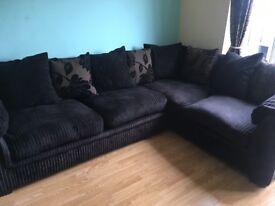 PERFECT condition corner sofa