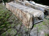 Large Oak Slabs