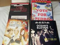 8 mixed selection of dvds