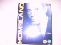 Homeland - season 1& 2 on blu ray - brand new and sealed