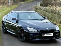 WOW! (2012) BMW 640D 6 SERIES M SPORT GRAND COUPE - PAN ROOF - LEATHER - ALLOYS - FBMWSH