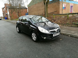 2010 VAUXHALL CORSA 1.2 BLACK, 3 DOOR, LOW MILEAGE, FULL SERVICE HISTORY