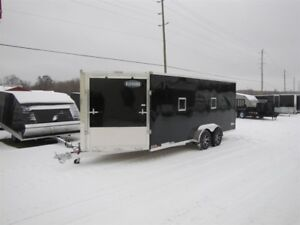 2018 Cargo Express 7' x 23' (EXTREME) ALL ALUMINUM SNOWMOBILE TR