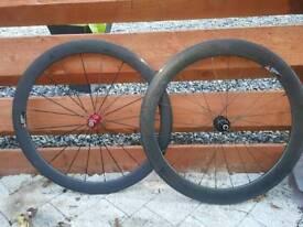 China carbon road wheel set