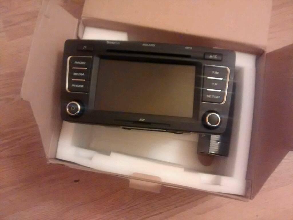 Mint Skoda Bolero Touch Screen Headunit 6x CD changer | in Roslin,  Midlothian | Gumtree