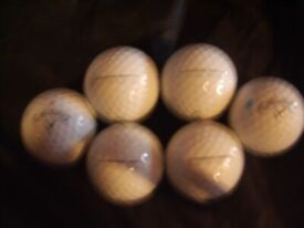 CALLAWAY CHROME SOFT GOLF BALLS FOR SALE. ONLY 75 PENCE EACH.