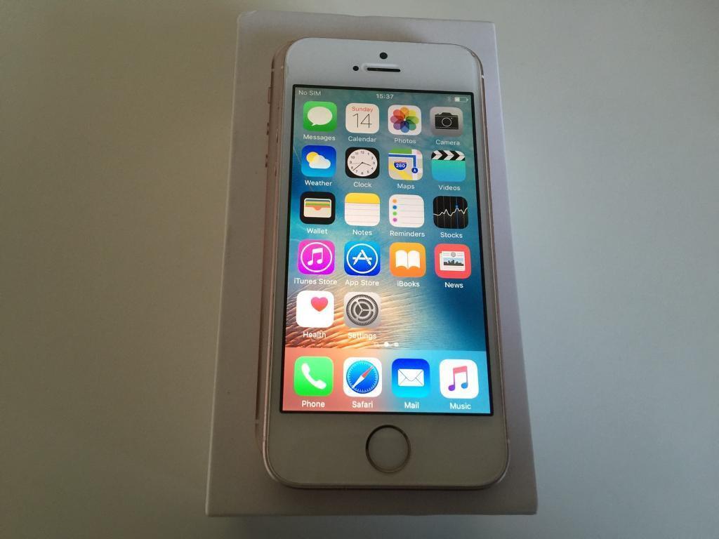 iPhone SE • 64GB • O2