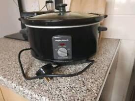 3.5ltr morphy Richards slow cooker