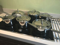 Stainless Steel Pans - 6 piece set